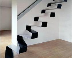 Красивая и безопасная лестница в интерьере