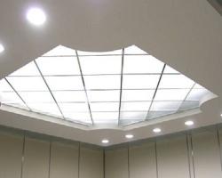 Как сделать в доме стеклянный потолок