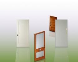 Дверной проем и дверь