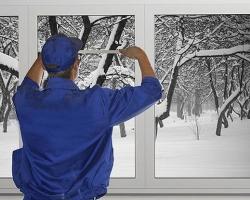 Особенности установки пластиковых окон в зимний период