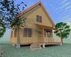 Определение внешнего облика дома