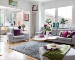 Скандинавский стиль – интересный дизайн гостиной