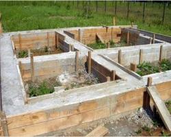 Строим фундамент для бани самостоятельно
