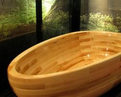 О деревянных ваннах