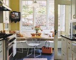 Использование пространства кухни (столовой)