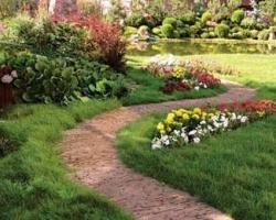 Какие бывают садовые дорожки?