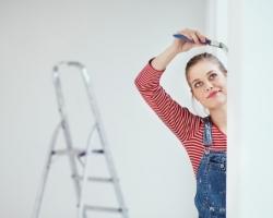 Особенности зимнего ремонта квартиры