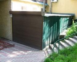 Строим мини-гараж