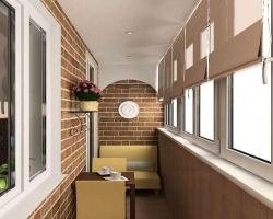 Выбираем отделочные материалы для балкона