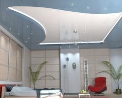 Натяжные потолки в виде крупноразмерной плитки: краткая характеристика и основные бренды