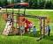 Строим верёвочную стенку для детской площадки