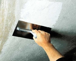 Выравниваем большие перепады между плитами перекрытия на потолке: бюджетный вариант ремонта