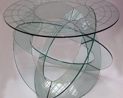 Мебель из стекла в дизайне интерьера