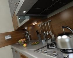 Как создать интерьер кухни 6м2?