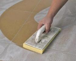 Затирка швов на керамической плитке