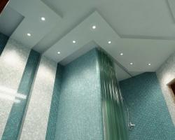 Потолок в ванной: важные правила и рекомендации