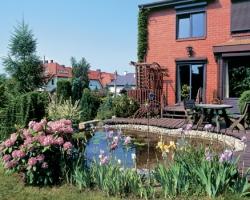 Многоуровневый сад с настилами