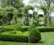 Сад с геометрической планировкой