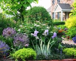Разбиваем территорию участка под сад на зоны