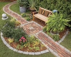 Создаем маршруты движения по саду