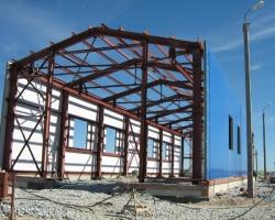 Строительство зданий из металлоконструкций