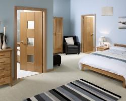 Многообразие отделки межкомнатных дверей