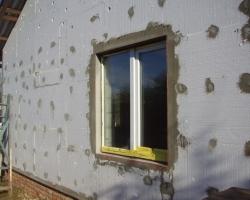 Утепление фасадов с помощью пенопласта
