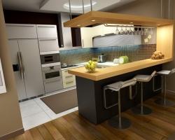 Модные тенденции кухонных интерьеров