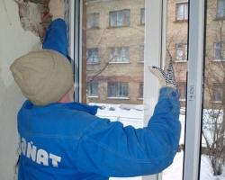 Монтаж пластиковых окон в зимнее время года