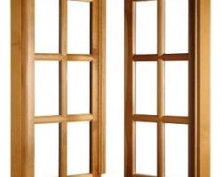 Установка деревянных окон