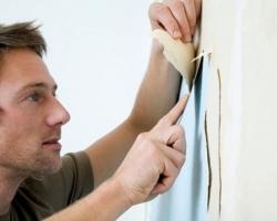 Подготовка стен к использованию обоев