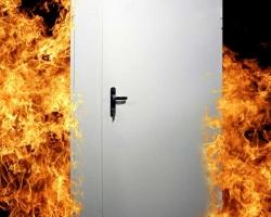 Двери, которые могут противостоять огню