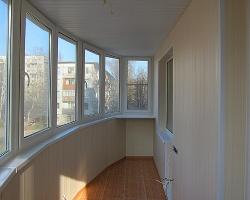 Обшивка балкона - делаем сами