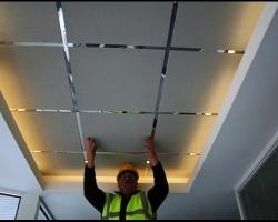 Основы установки плитки на потолок