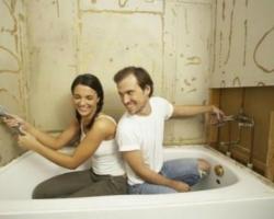 Гидроизоляционные работы в ванной