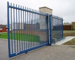 Откатные ворота: надежность, качество, функциональность