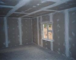 Отделка стен гипсокартоном при ремонте