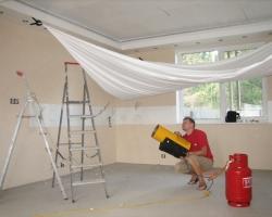 Проблемы монтажа натяжных потолков при готовом ремонте