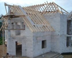 Строительство из бетонных блоков