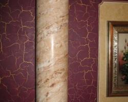 Декорирование интерьеров с использованием венецианской штукатурки