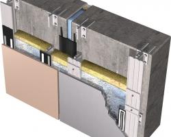 Вентилируемые фасады в строительстве