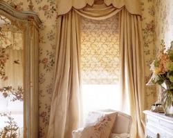 Шторы для комнаты в традиционном стиле
