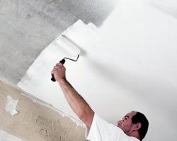 Потолок под покраску — как избежать ошибок