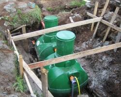 Организация частной канализационной системы с использованием станции биологической очистки