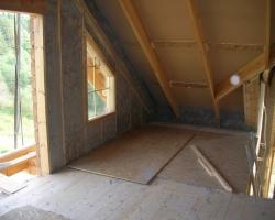 Как утеплить каркасный деревянный дом