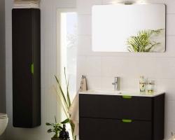 Односекционная мебель для ванных комнат
