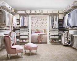 Гардеробные комнаты от компании Элфа