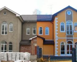 Декор фасада архитектурными деталями