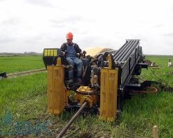 Применение установки горизонтально направленного бурения (ГНБ)