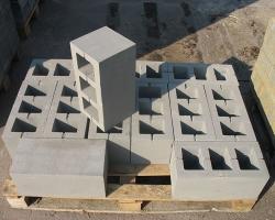Возведение двухэтажного коттеджа из строительных блоков